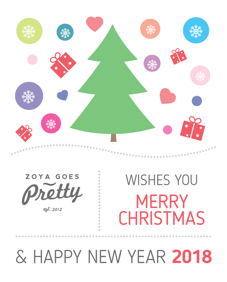 Merry Christmas and Happy New Year! | Zoya Goes Pretty