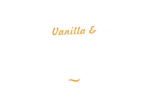 vanilla and grapefruit hand cream