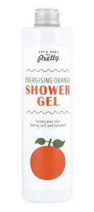 energising orange shower gel